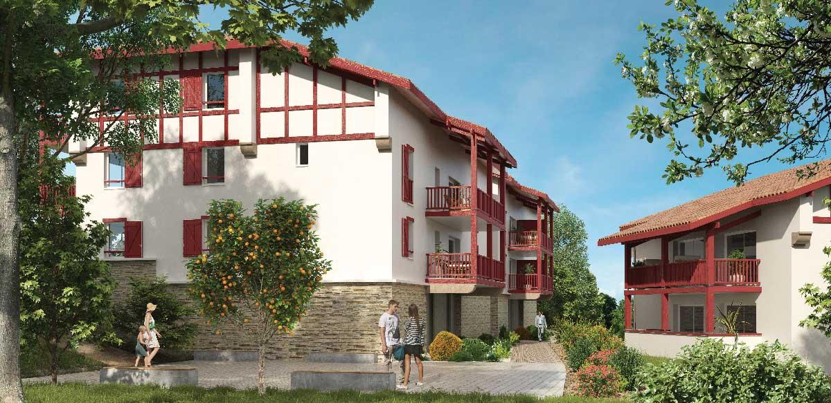 Arbonne, programme immobilier neuf - Gizaldia